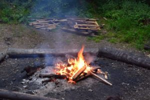 Cuffley Cub Scouts, Skills for life, Hertfordshire Scout County Bushcraft Day, Lees Wood Camp Site, Fire Lighting
