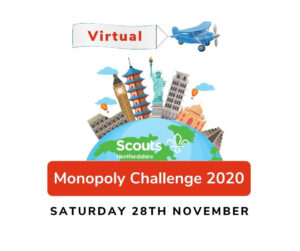 Hertfordshire County Scouts Monopoly Challenge 2020