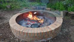 1st Cuffley fire circle