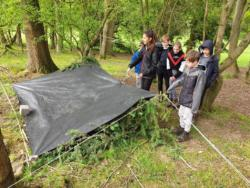 May Camp 2019 Scout Bivvy