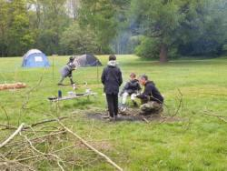 May Camp 2019 Scouts at Tolmers