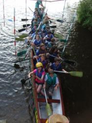 Scout Dragon Boat 2009