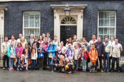 Viernheim Scouts,Cuffley Scout Group,Downing Street,Cuffley