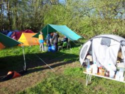 Tolmers,Cuffley,Scouts,Camping