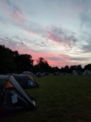 Cub Camp sunset
