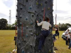 Northaw,Cuffley,Parish,Village,Day,Scouts,Climbing Wall,