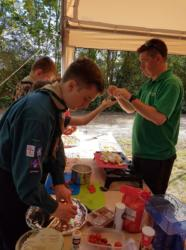 Scouts at Bakeoff
