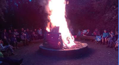 Design for the new Cuffley Scout Group Camp Fire Circle