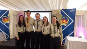 Cuffley Scout Group, Service Crew, Queen's Scout Award, QSA, Cuffley, Potters Bar, Hertfordshire, Scouts, Explorers