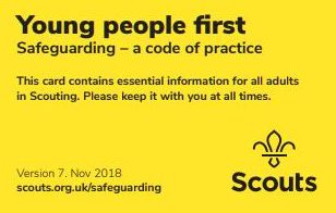 Cuffley Scout Group Notices Safeguarding Policies. Young People First. Beavers, Cubs, Scouts, Explorers, Adults and Leaders