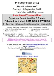 Cuffley Scout Group Csar Treasure Hunt
