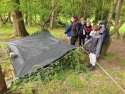 May Camp 2019 Scout Bivvy