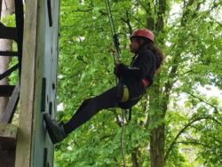 May Camp 2019 Scout abseil