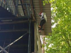 May Camp 2019 Scout Abseiling